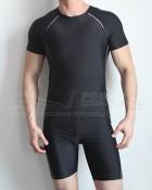 Short Sleeve Wetshirt Binder & Undershorts