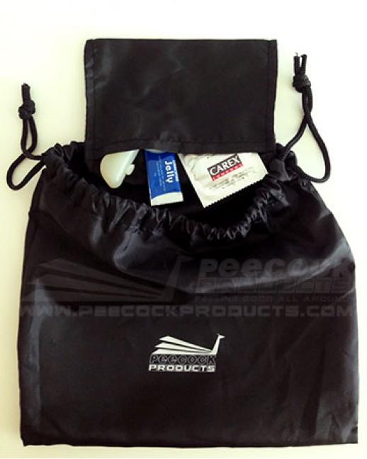 Peecock Design Soft Pouch