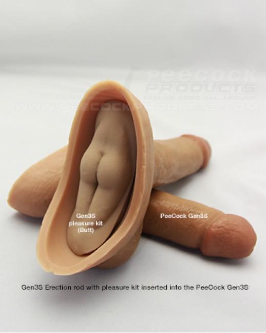 PeeCock Gen3S 4.75inch Uncircumcised